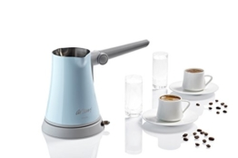Arzum AR3010b Mirra Turkish Coffee Maker, Aluminium, blau, 28 x 28 x 28 cm -