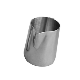 Stainless Steel Milk Frothing Pitcher Suitable for Coffee, Latte & Frothing Milk (300ml) -